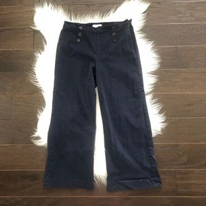 [Lila Ryan] High Waist Button Front Flare Pant